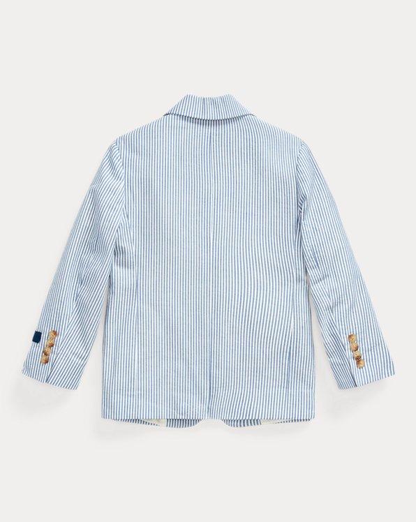 Polo Seersucker Suit Jacket
