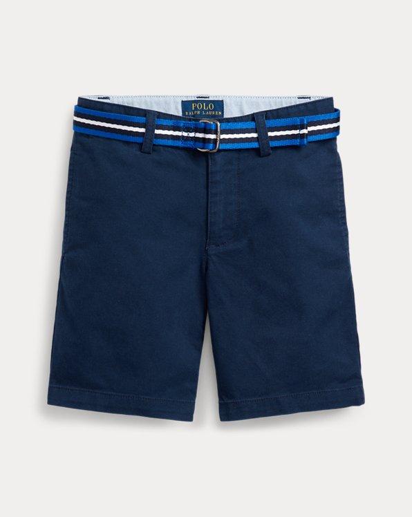 Short chino con cintura Slim-Fit