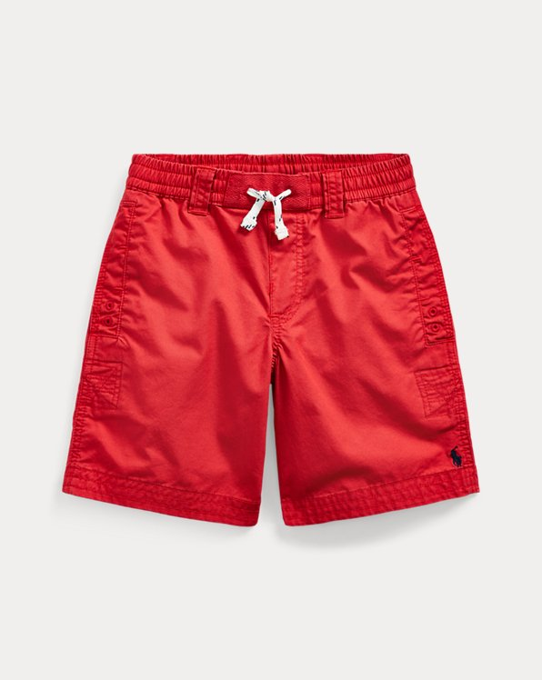 폴로 랄프로렌 Polo Ralph Lauren Cotton Twill Drawstring Short,Evening Post Red