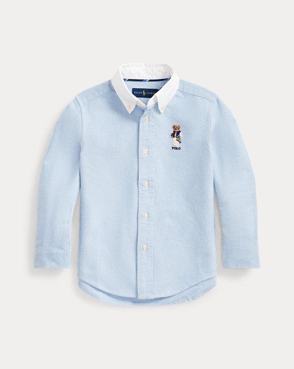 Football Bear Cotton Shirt