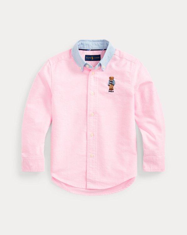 Preppy Bear Cotton Shirt