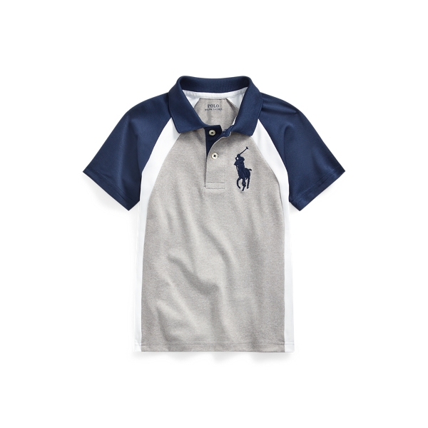 폴로 랄프로렌 남아용 폴로 셔츠 Polo Ralph Lauren Big Pony Performance Polo,Andover Heather