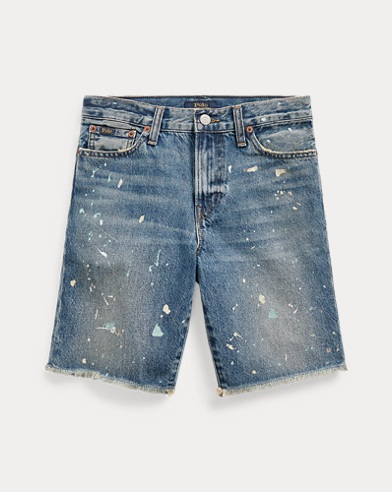 Sullivan Slim Distressed Short