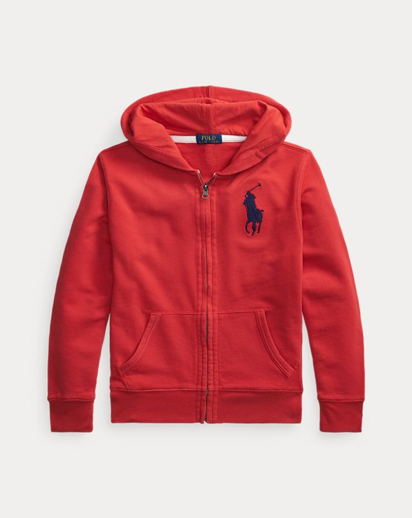 Sweat capuche Big Pony coton éponge