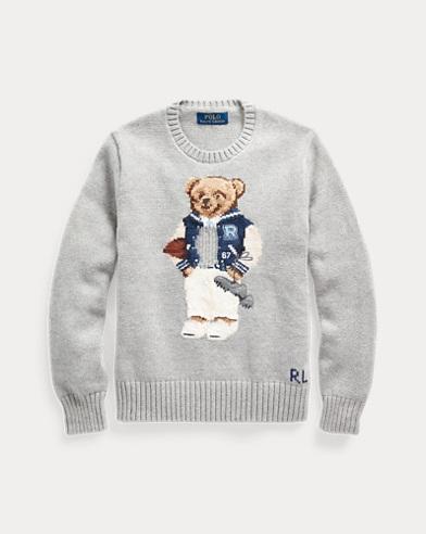 Pull en coton Football Bear