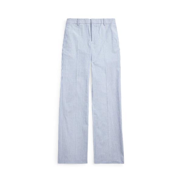 폴로 랄프로렌 보이즈 팬츠 Polo Ralph Lauren Cotton Seersucker Suit Trouser,Blue/White