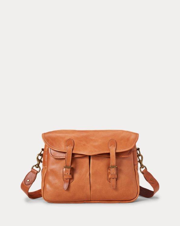 Heritage Leather Messenger Bag