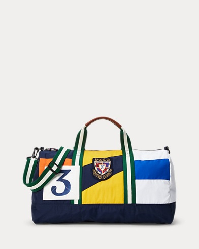 Rugby Color-Blocked Duffel