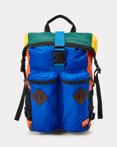 Mountain Roll-Top Backpack