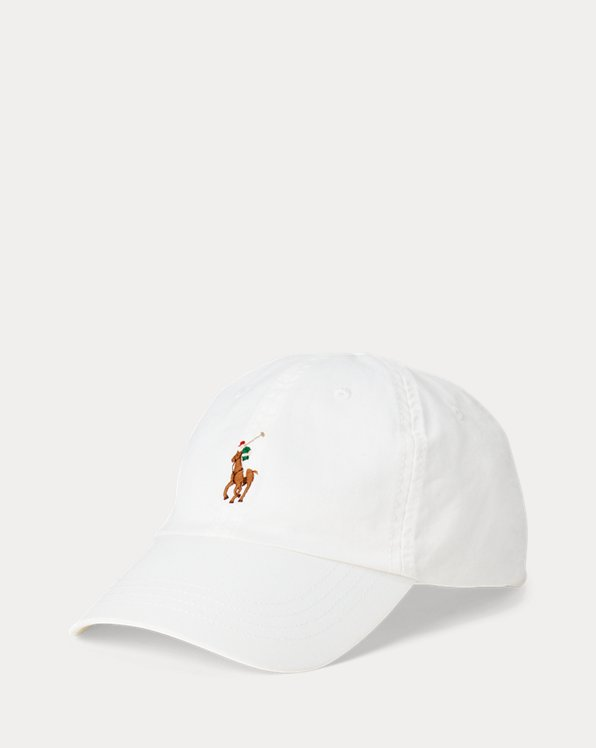 Gorra con visera en algodón elástico