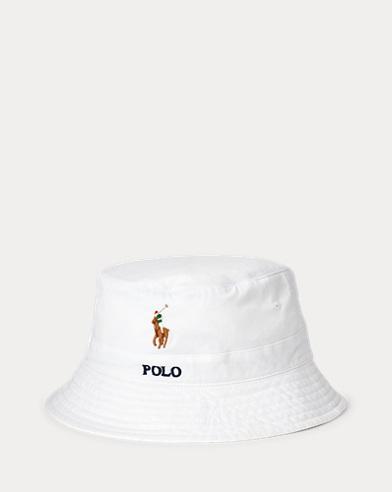Stretch-Cotton Bucket Hat