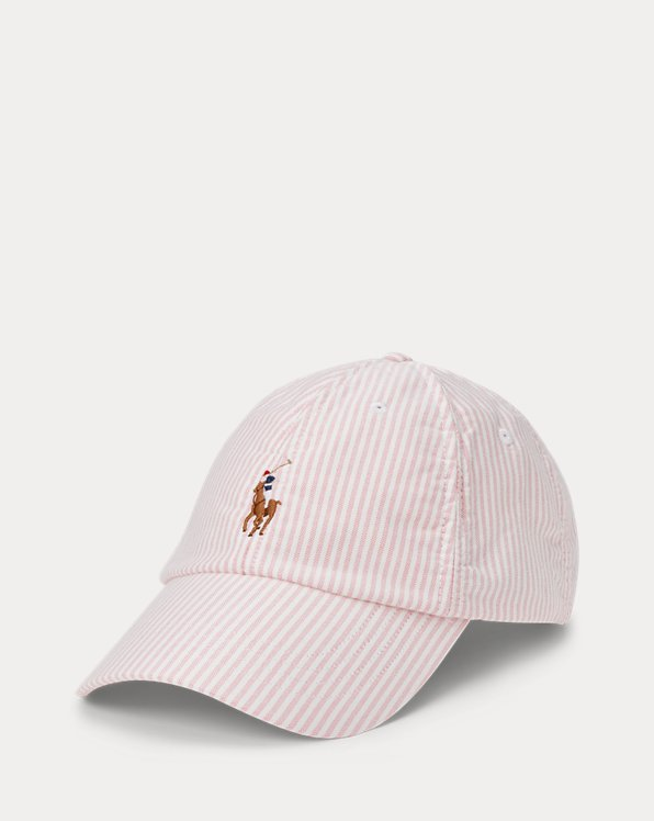 Striped Oxford Cap