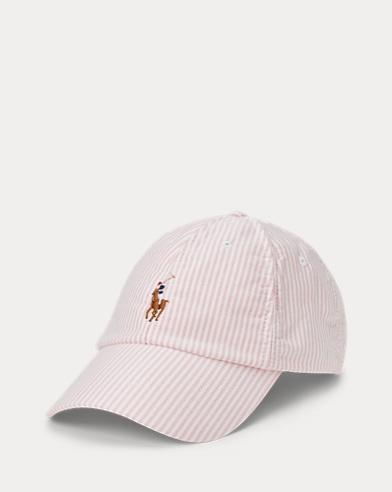 Striped Oxford Cap