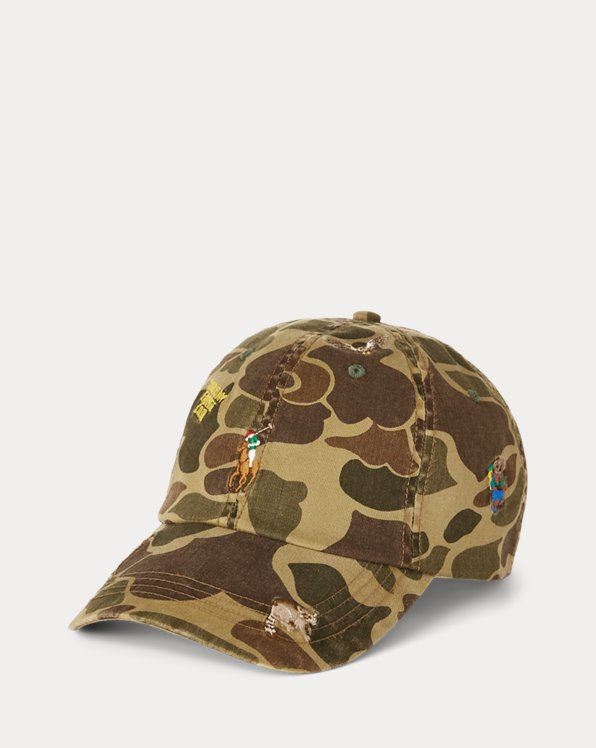 Casquette camouflage motifs chasseur