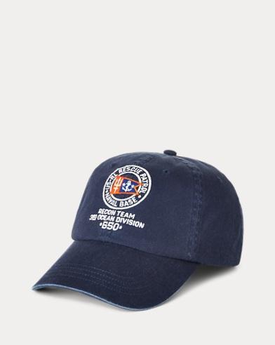 Nautical Chino Ball Cap