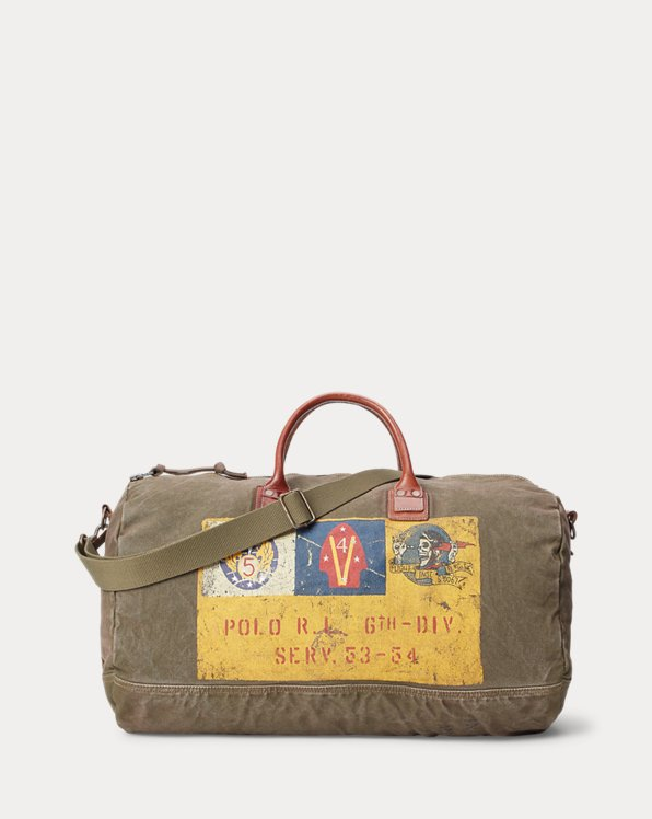 Canvas Military Duffle