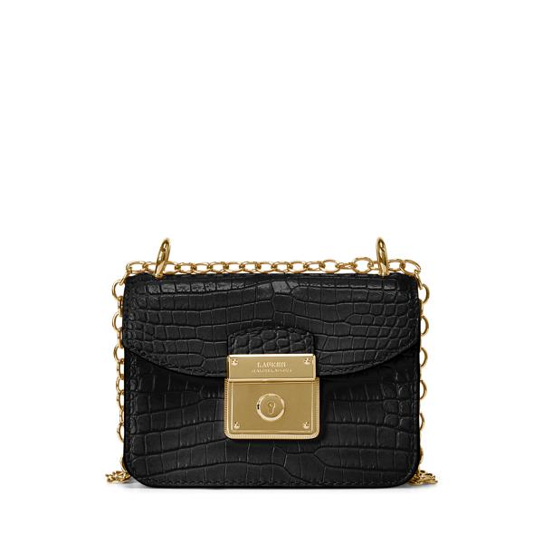 폴로 랄프로렌 Polo Ralph Lauren Mini Beckett Crossbody Bag,Black