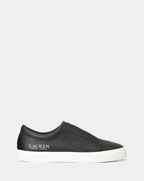 Judith Leather Slip-On Trainer