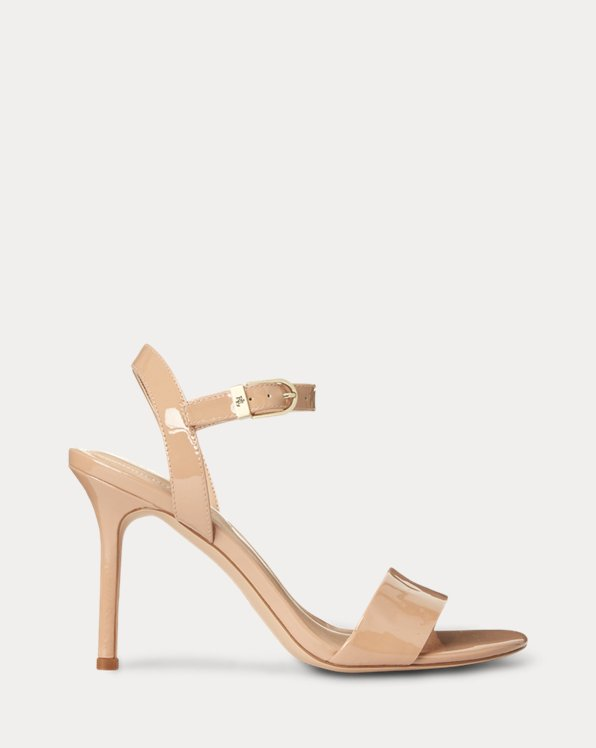Gwen Patent Leather Sandal