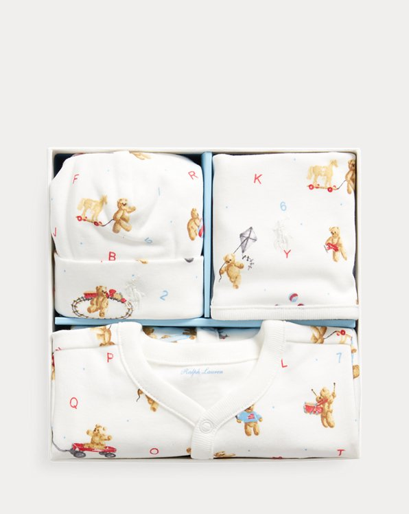 Coverall, Hat & Bib Gift Set