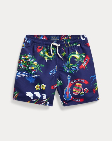 Captiva Tropical Swim Trunk