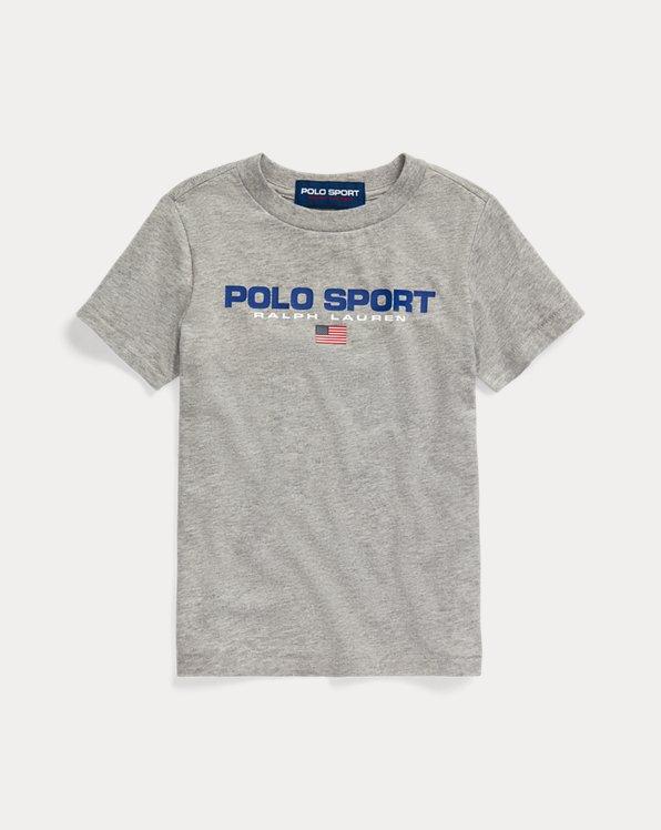Baumwoll-T-Shirt Polo Sport