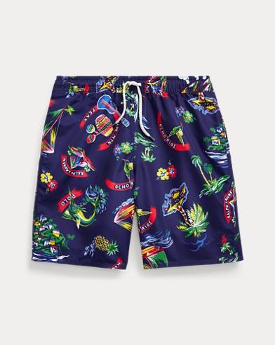 Captiva Tropical Swim Trunk