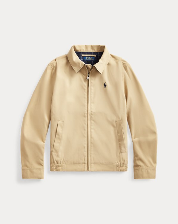Water-Resistant Twill Jacket