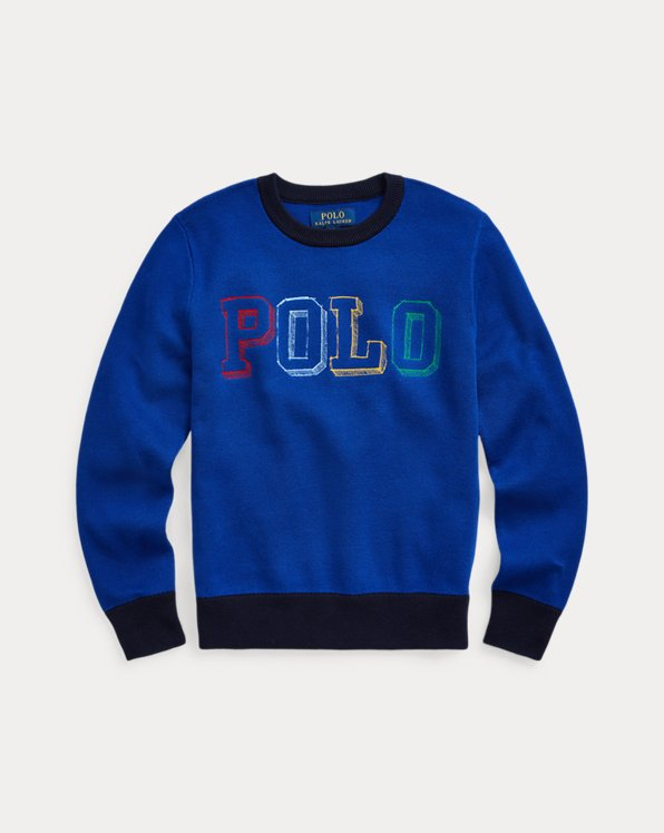 Logo Cotton Jumper