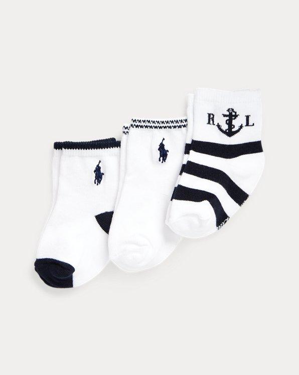 Anchor Crew Sock 3-Pack