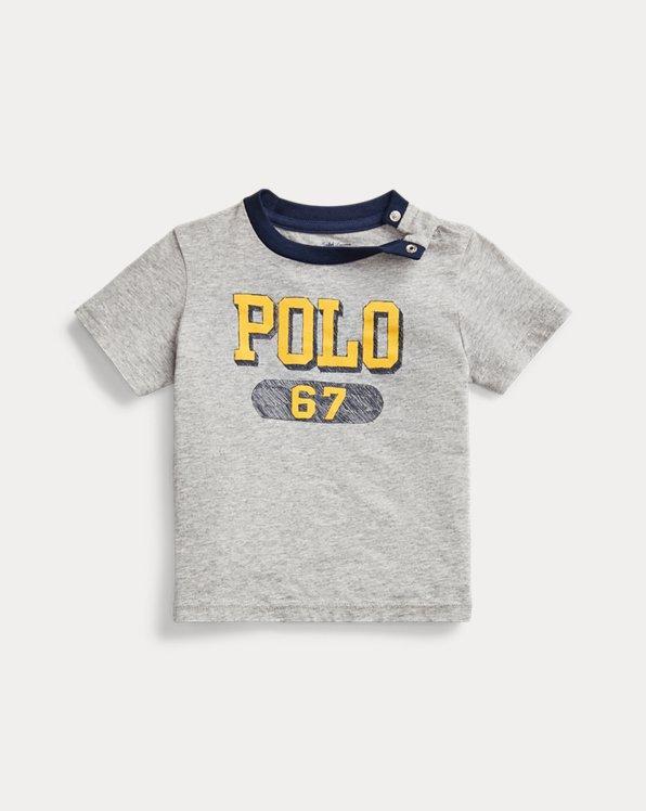 Camiseta de punto jerseycon logotipo