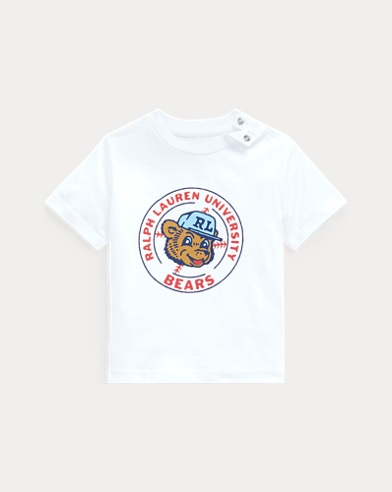 Bear Graphic Cotton Tee