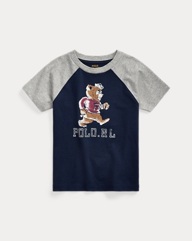 Polo Bear Cotton Jersey Tee