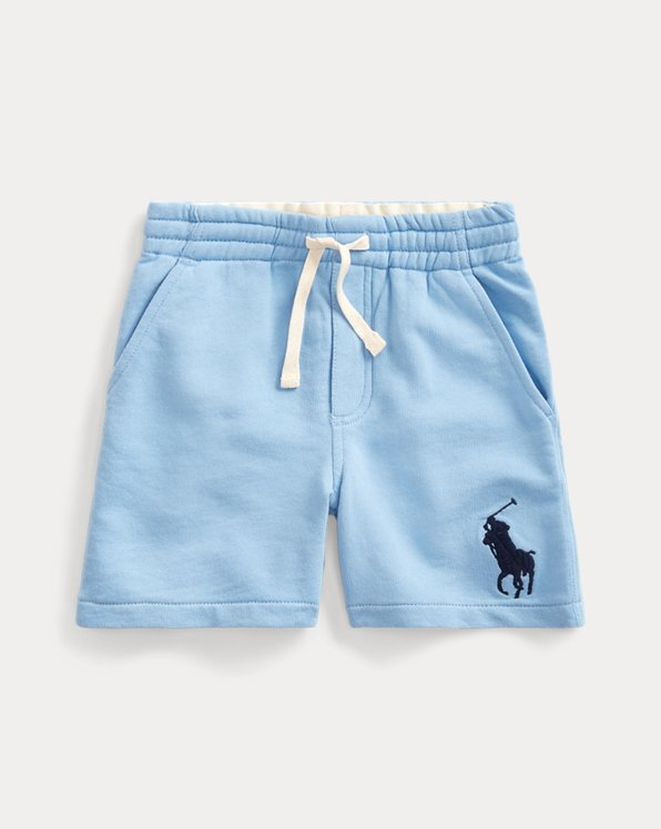 French-Terry-Shorts mit Big Pony