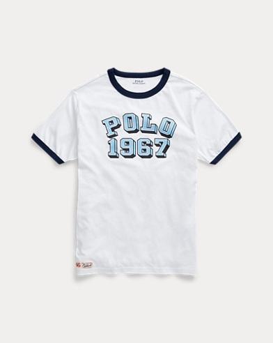 T-shirt graphique jersey de coton