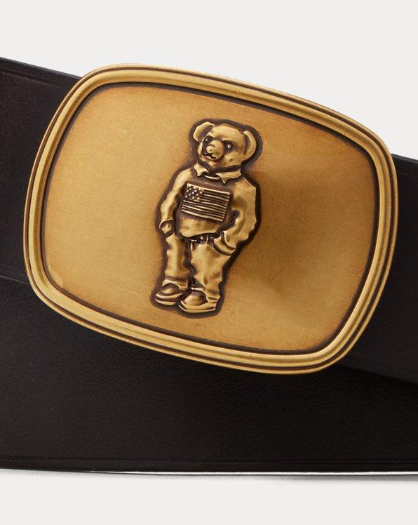 Polo Bear Leather Belt
