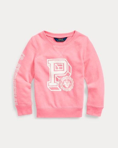 Grafik-Pullover aus French-Terry