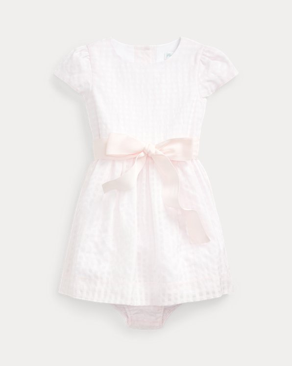 Gingham Dress & Bloomer
