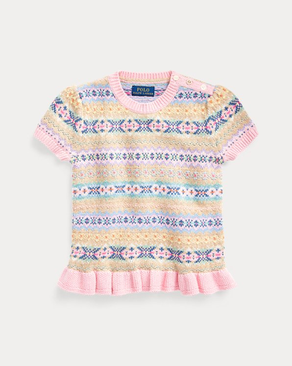 Fair Isle Cotton Jumper