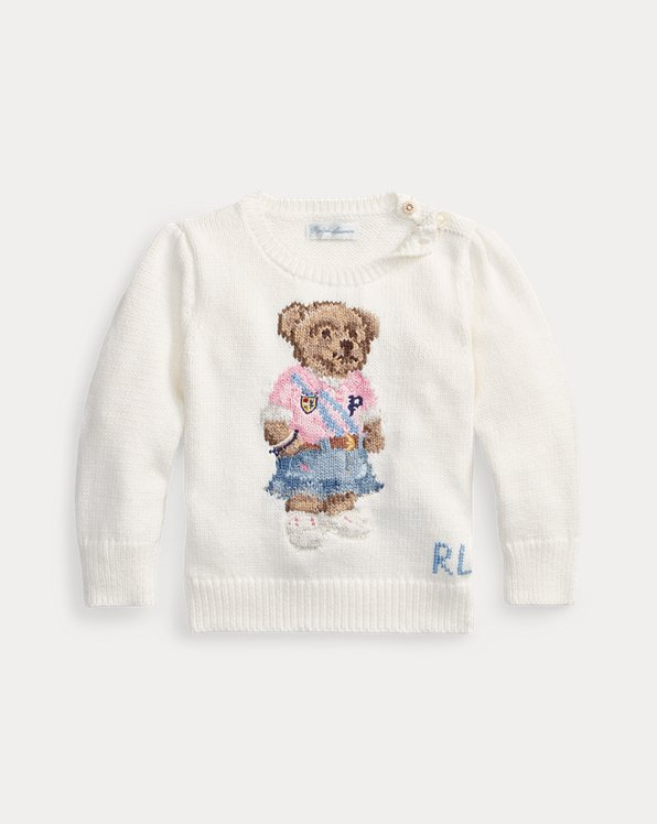 Spring Bear Cotton Jumper