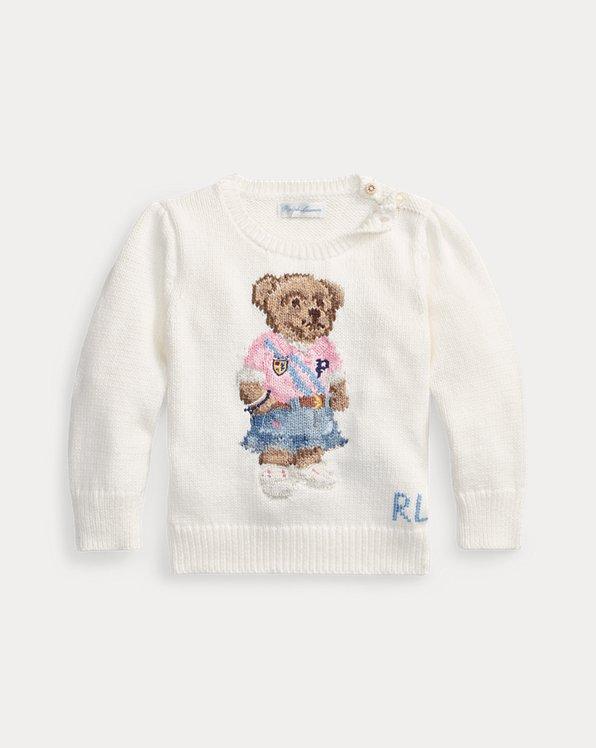 Baumwollpullover mit Spring Bear