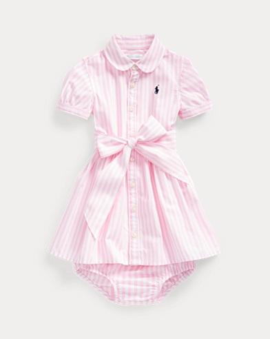 Bengal-Stripe Dress & Bloomer