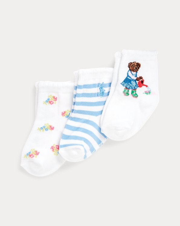 Gardening Bear Sock 3-Pack