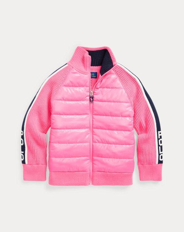 Cotton-Blend Hybrid Jacket