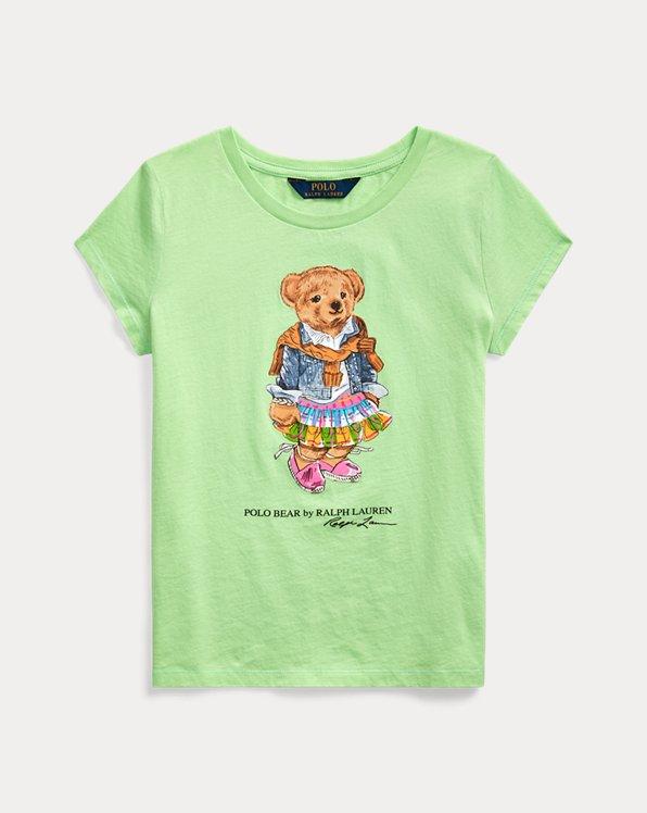 Madras Bear Cotton Jersey Tee