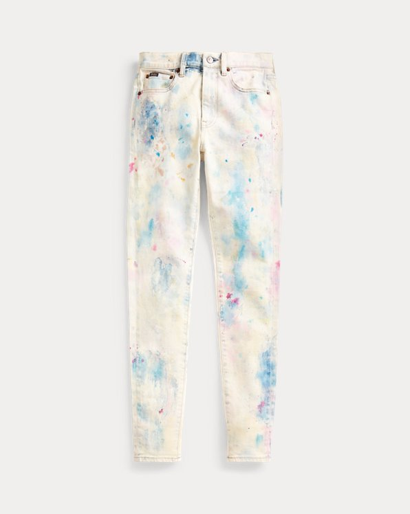 Skinny-Jeans Tompkins mit High-Rise