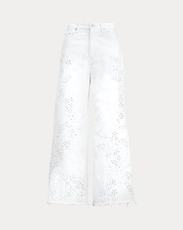 BB Wide-Leg Crop Jean