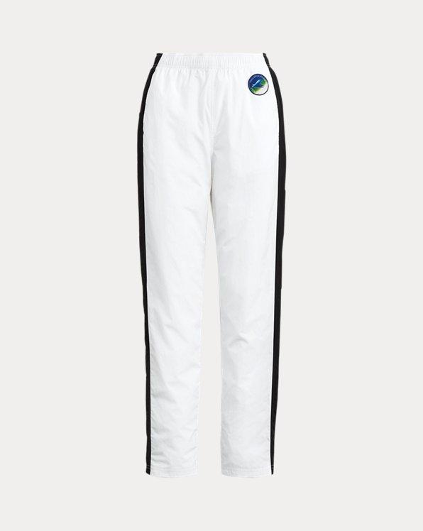 Pantalon athlétisme rayé