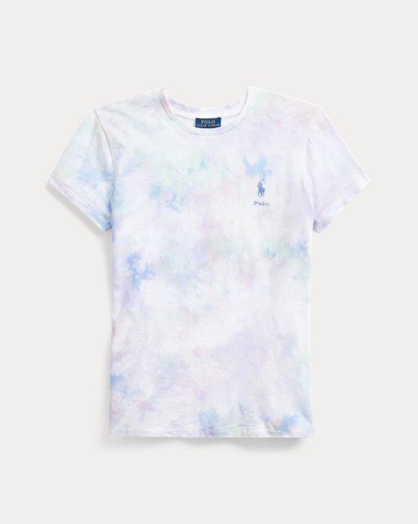Camiseta de punto con tie-dye