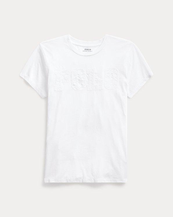 Polo-T-Shirt aus Baumwolljersey
